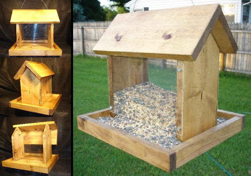 Bird feeder plans, birdhouse plans free